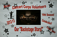 Aug. 25, 2012 Concert Corps Volunteer Party