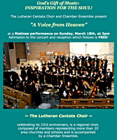 2018-03-18 Lutheran Cantata Choir & Chamber Ensemble