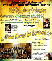 Feb. 21, 2014 UCF Symphony Orchestra (Open Dress Rehearsal)