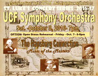 2016-10-07 & 08 UCF Symphony Orchestra - Canceled due to hurricane Matthew