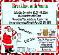 Dec. 20, 2014 Breakfast with Santa