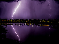 """Lightning On The Park"" by Simone Amaduzi"