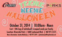 Oct. 31, 2014 Teenie Weenie Halloween